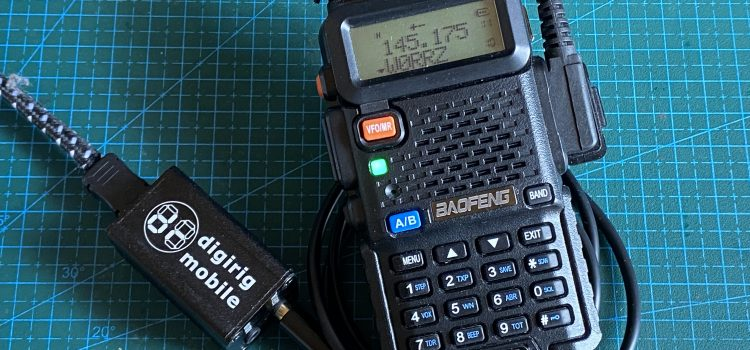 Digirig Mobile as Chirp Programmer for Baofeng
